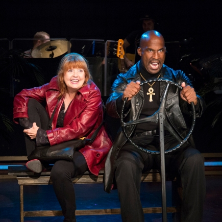 Annie Golden and Alan Green. Photo by Scott Barrow.