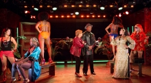 Broadway Bounty Hunter with Annie Golden, Alan Green, Badia Farha & Ensemble. Photo by Scott Barrow.