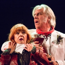 Annie Golden and Jeff McCarthy were both nominated for Broadway Bounty Hunter. Photo by Scott Barrow.