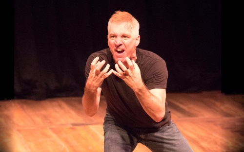 Stephan Wolfert in Cry Havoc! at Shakespeare & Company through August 13, 2016.