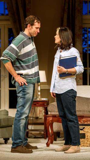 (L to R): Stephen Kunken and Diane Davis. Photograph Daniel Rader.