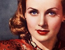 Glamor shot of Carole Lombard.
