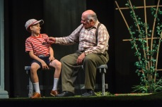 "David Wohl and Django Grace in ""All My Sons"" (2016) Photo by Hubert Schriebl"