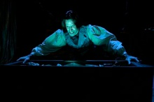 "Steven Patterson in ""Frankenstein: The Modern Prometheus."" Photo by Tony Firorillo"
