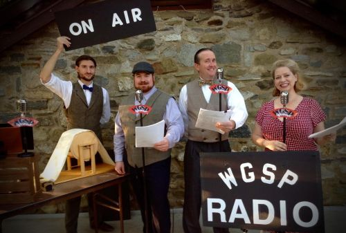 Sherlock Holmes & the Speckled Band: a live action radio drama at