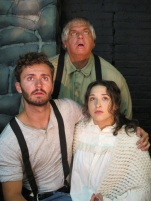 Gabriel James as Zack, Art Skopinsky as Willum & Lindsay Cahill as Sally