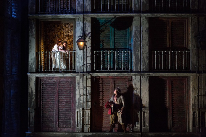 "A scene from Mozart's ""Don Giovanni."" Photo: Marty Sohl Metropolitan Opera"