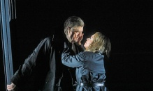 Stuart Skelton and Nina Stemme in the title roles of Wagner's Tristan und Isolde. Photo by Ken Howard/ Metropolitan Opera.