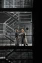 Ekaterina Gubanova as Brangäne and Nina Stemme as Isolde in Wagner's Tristan und Isolde. Photo by Ken Howard/ Metropolitan Opera.