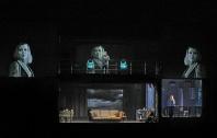 A scene from Wagner's Tristan und Isolde. Photo by Ken Howard/ Metropolitan Opera.
