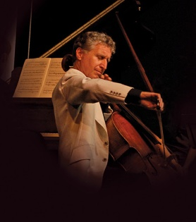 Cellist Yehuda Hanani is also the leader of Close Encounters With Music.
