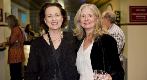 Made in the Berkshires organizers Hilary Somers Deely, left, and Barbara Sims.