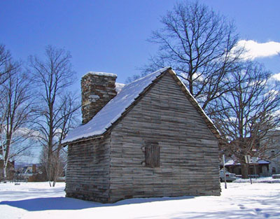 The 1753 House in Williamstown, MA.