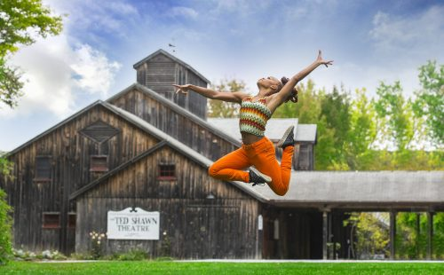 Camille A. Brown at Jacob's Pillow Dance Festival.