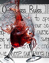 The season ends with the Tony and Olivier Award-winning New York smash hit God of Carnage, by Yasmina Reza, the author of ART. (Illustration Kevin Sprague.)