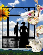 Dennis Krausnick's delightful adaptations of short stories by Edith Wharton close the season at the Garden Theatre. Old Favorite Roman Fever is joined by a new piece, The Fullness of Life. (Illustration Kevin Sprague.)