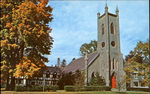 Historic St. James Episcopal Church Great Barrington, MA