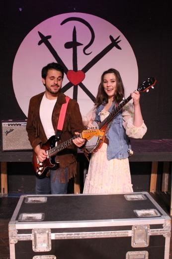 Zack Zaromatidis and Katie Luke.