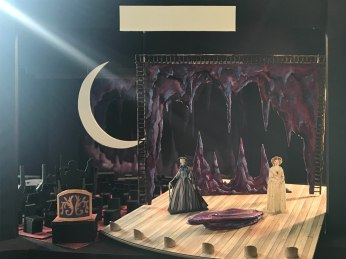 Stephen Dobay's set design for Act II - The Opera.