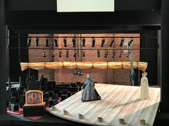 Stephen Dobay's set design for Act I - The Prologue.