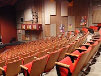 The Boland Theatre in the Koussevitsky Arts Center at Berkshire Community College.