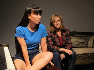 Julie Pham and Molly Parker Myers. Photo by John Sowle