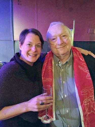 Kristen van Ginhoven and Larry Murray