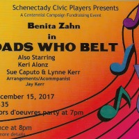 "Schenectady Civic Players Presents ""Broads Who Belt"" with Benita Zahn"