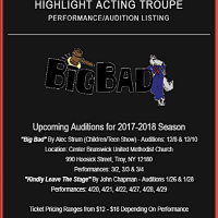 "Highlight Acting Troupe Auditions for ""Kindly Leave the Stage"""