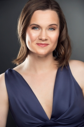 Soprano Erin Nafziger,whoplaystherole of Laeticia