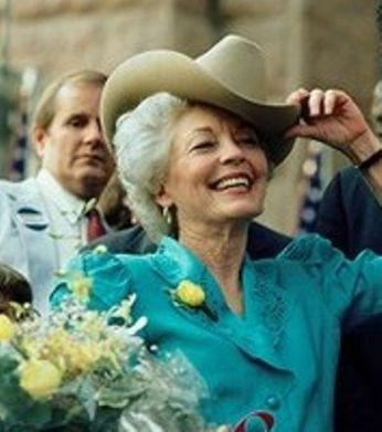 The late Ann Richards, Governor of Texas from 1991-1995
