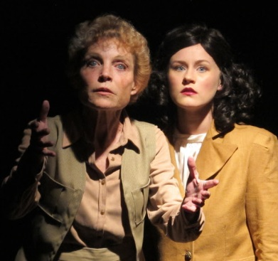 """Roxanne Fay and Olivia Howell in """"Leni."""""""
