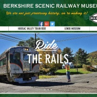 Berkshire Scenic Railway Launches New Season and New Website