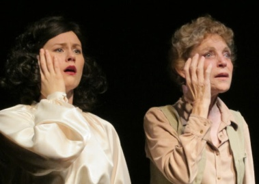 """Olivia Howell and Roxanne Fay in """"Leni."""""""