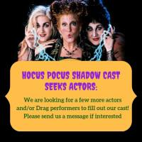 "Pushing the Limits Seeks Live Actors for ""Hocus Pocus"" Shadow Cast"