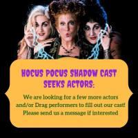 "Pushing the Limits Seeks Live Actors for ""Hocus Pocus"" Shadow Cast"