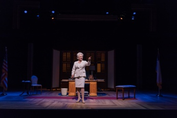Jayne Atkinson as Ann Richards in ANN by Holland Taylor. Photo: Joey Moro