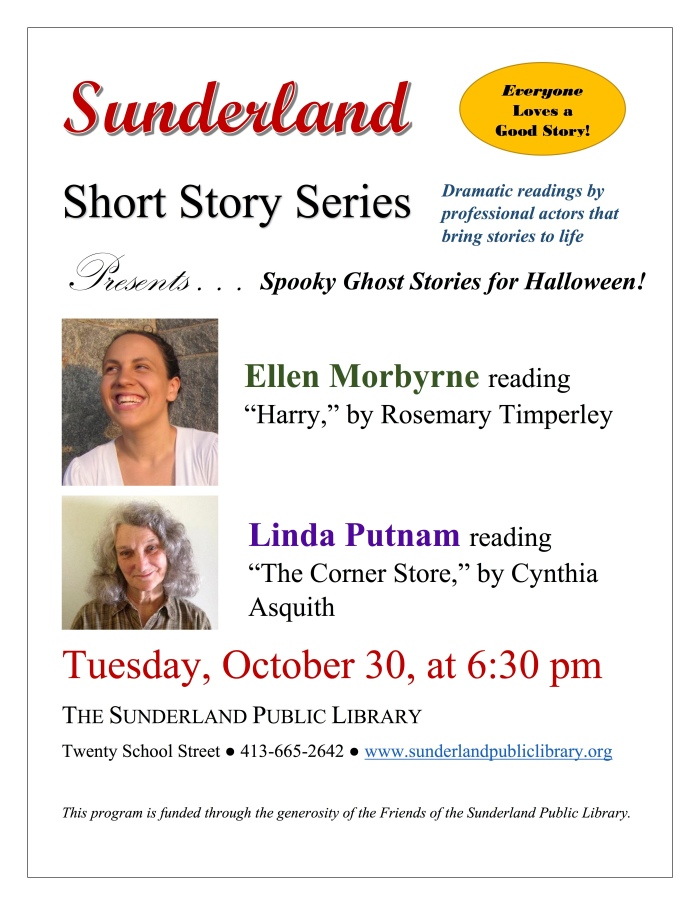 Sunderland Public Library Presents Sunderland Short Stories