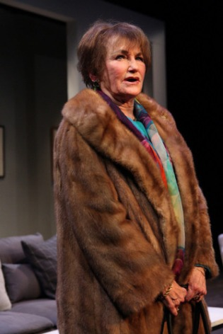 "Annette Miller as Katherine in ""Mothers and Sons."" Photo by Eloy Garcia."