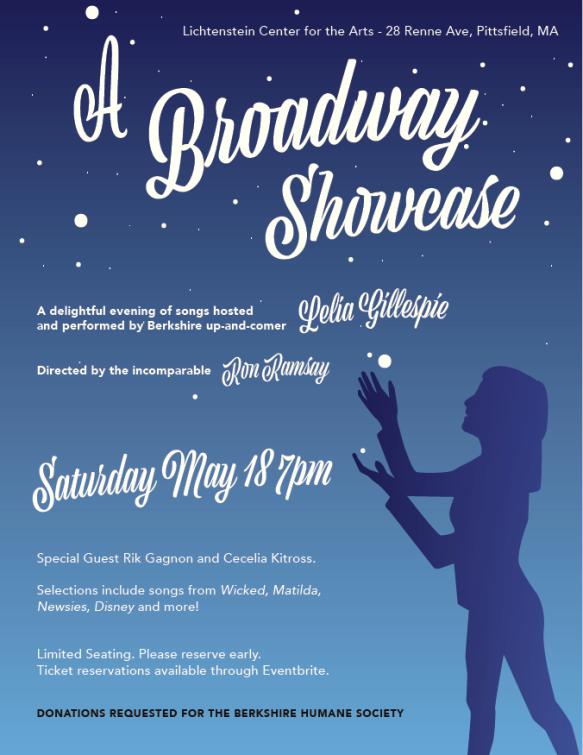 A Broadway Showcase Featuring Lelia Gillespie at the Lichtenstein