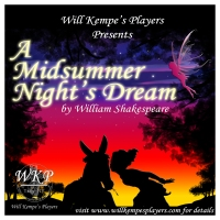 "Will Kempe's Players opens Shakespeare's ""A Midsummer Night's Dream"" in Troy's Prospect Park"
